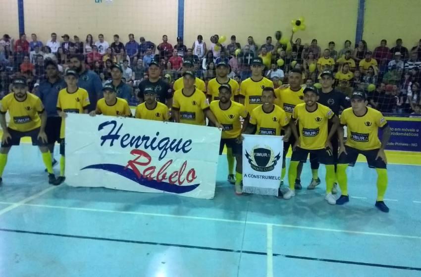 Kimura Vigilância vence a Funerária e é Campeão do Torneio de Férias de João Pinheiro de  2020.