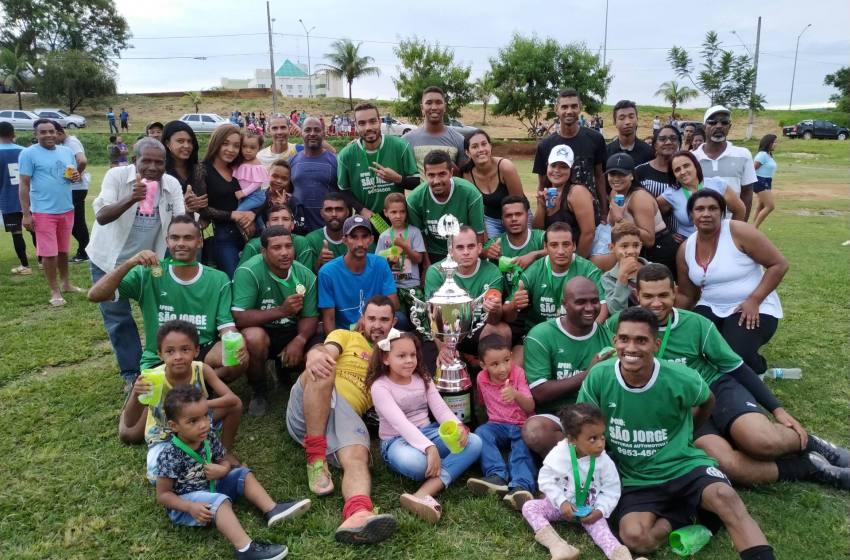 Em jogo emocionante Juventus vence o Alto do Córrego por 5 x 4 e é Campeão Society do Campo da Amizade.