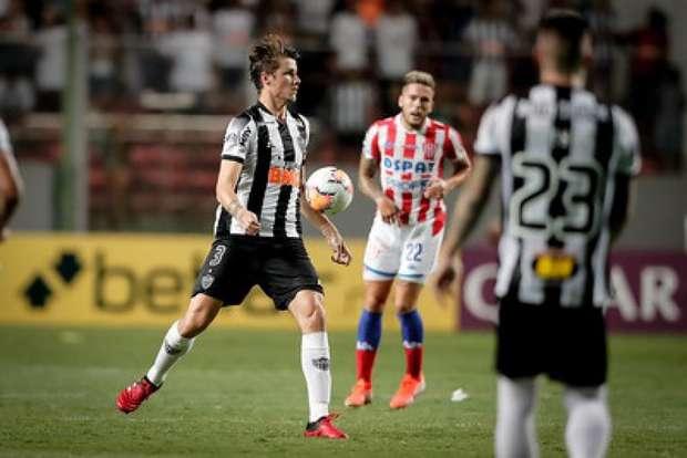 Atlético-MG vence Unión no Horto, mas é eliminado da Copa Sul Americana.