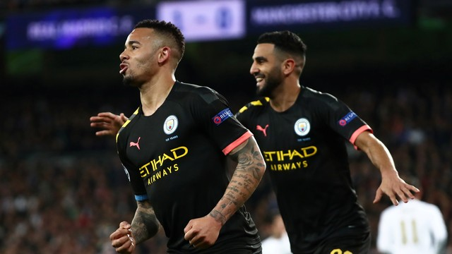 Com gol de Gabriel Jesus, Manchester City vence o Real Madrid de virada no Santiago Bernabéu