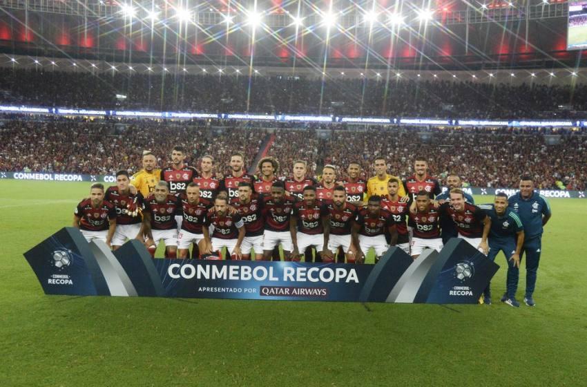 Flamengo vence o Independiente del Valle e conquista a Recopa 2020.