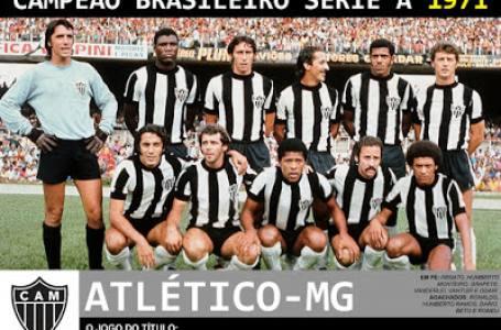 Os gols da Campeonato Brasileiro de 1971 do Título de Campeão do Atlético Mineiro  sobre o Botafogo.