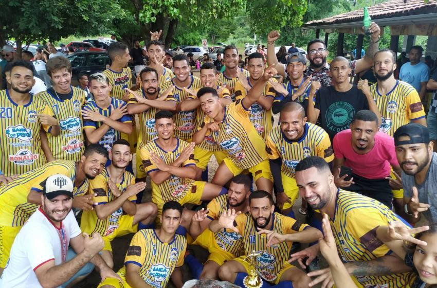 Com gol de Maicon Juventude vence Lagoa e é Campeão do Campeonato de Futebol do Campo da Lagoa de Santa Rita.