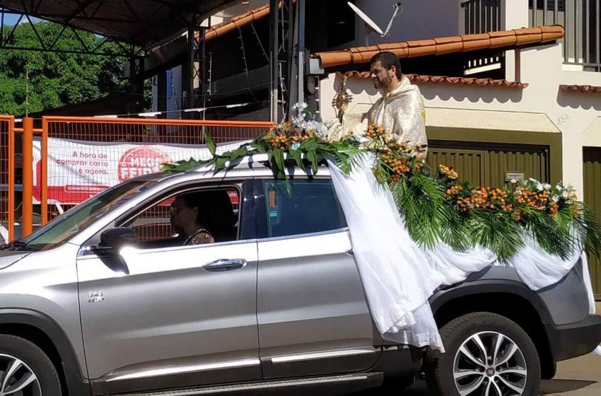 Domingos de Ramos em Paracatu-Minas Gerais.