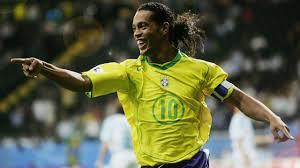 Os gols do Craque Ronaldinho Gaúcho pela Seleção Brasileira.