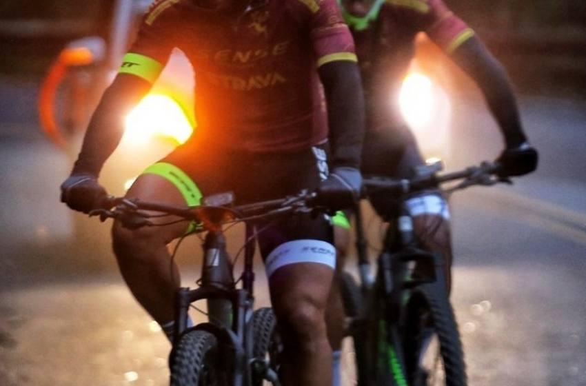 Após recuperação com fisio do Fluminense, Fred inicia 4º dia do tour de bicicleta no fim da tarde.