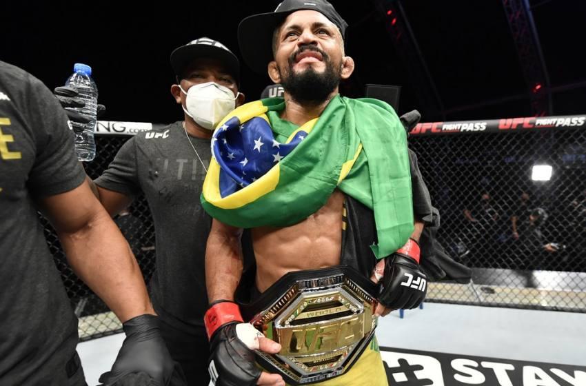 Implacável, Deiveson Figueiredo atropela Joseph Benavidez e é campeão peso-mosca do UFC.