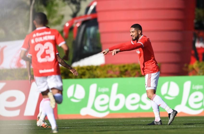 Com dois gols de Guerreiro Internacional vence o Aimoré e classifica para próxima Fase do Gauchão 2020.