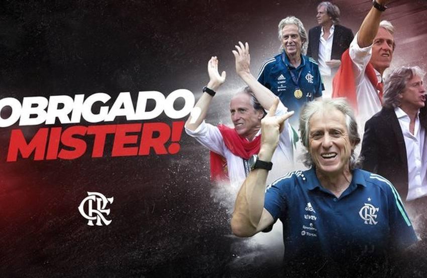 Flamengo confirma saída de Jorge Jesus para o Benfica.