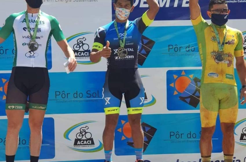 Ciclista Paracatuense Adenaldo vence a Copa ACACI de Ciclismo de Catalão-Goías.