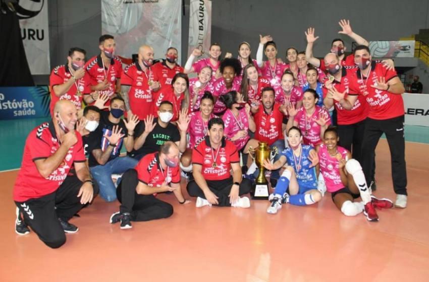 No golden set Osasco vence o Sesi Volêi  Bauru e conquista o Campeonato Paulista de 2020.