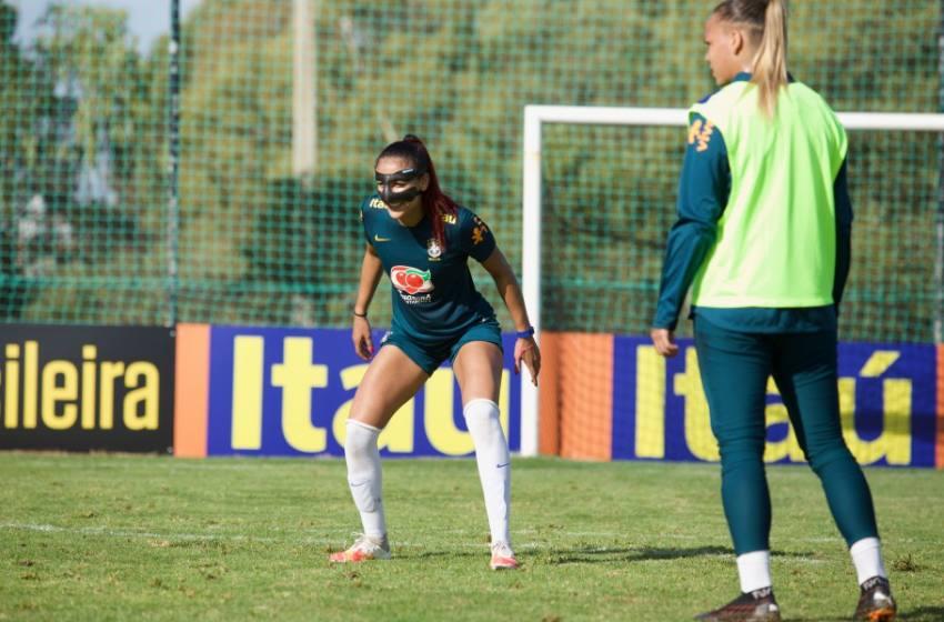 Seleção Feminina: Kathellen celebra novo momento na carreira na Inter de Milão.