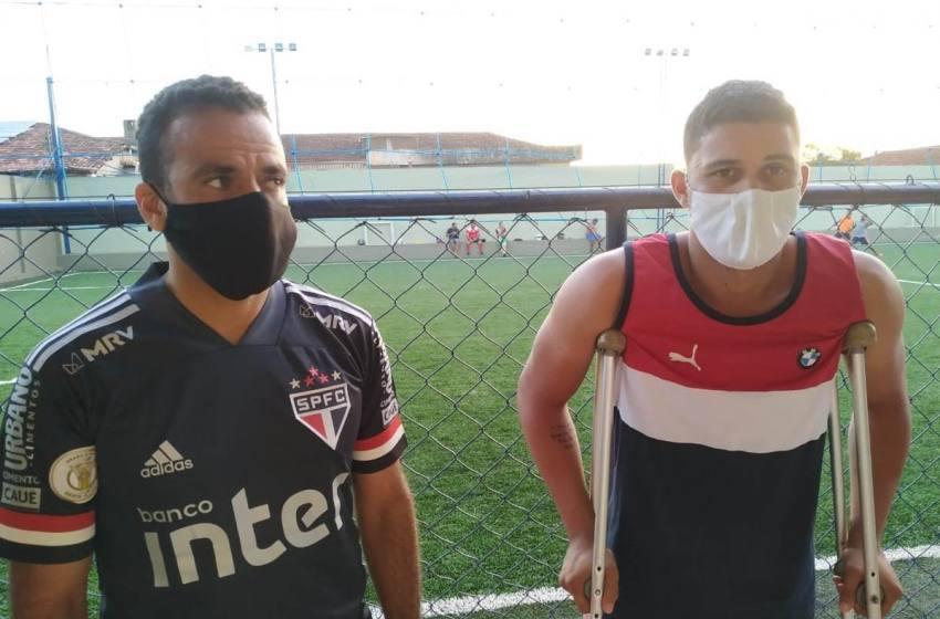 Álisson Chupetinha e Felipe Brasília são homenageados no Torneio Beneficente Arena Gol de Placa.