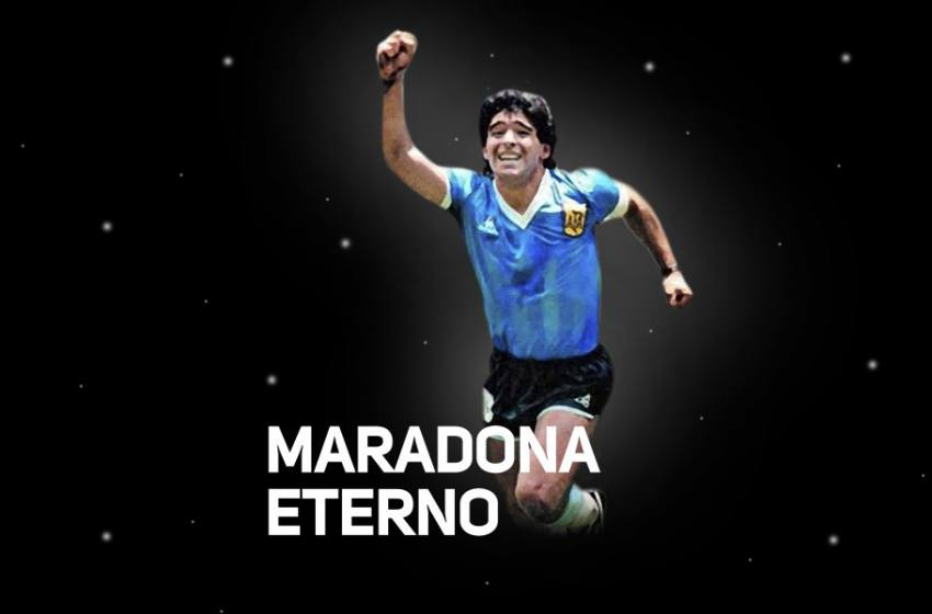Morre Diego Armando Maradona, lenda do futebol mundial.