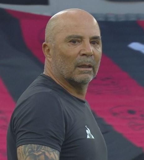 """Sampaoli destaca efeito de vitória para Atlético-MG enfrentar o São Paulo: """"Nos dá ânimo e otimismo""""."""