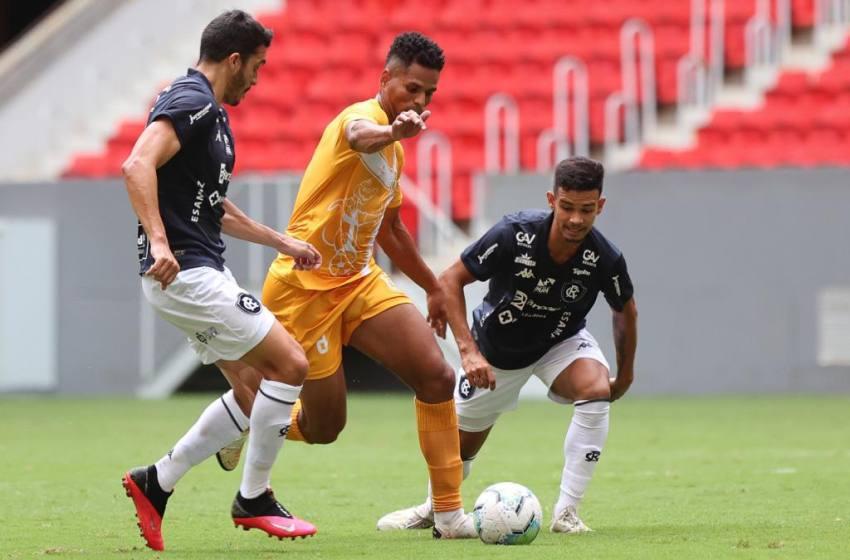 Brasiliense vence o Remo no primeiro jogo da Final da Copa Verde.
