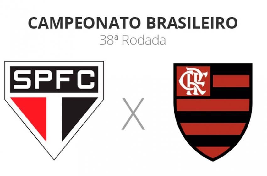 São Paulo x Flamengo: veja onde assistir, escalações, desfalques e arbitragem.