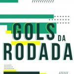 Os gols da rodada desta Quarta Feira, 31/03/2021.