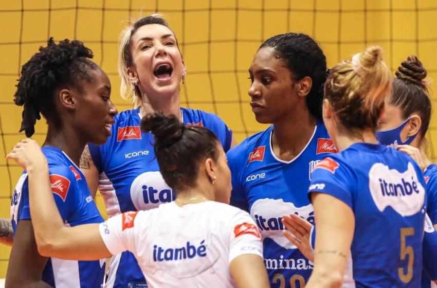 Minas faz jogo de altos e baixos, vence o Praia Clube no quinto set e fica com o título da Superliga.