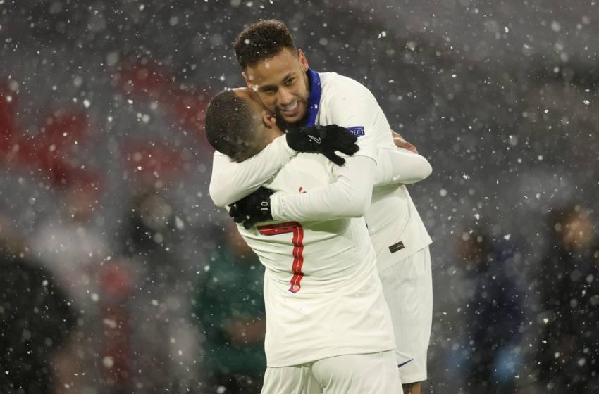 PSG vence o Bayern em Munique com gols de Mbappé e assistências de Neymar.