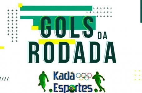 Os gols da rodada desta Terça Feira, 03/08/2021.