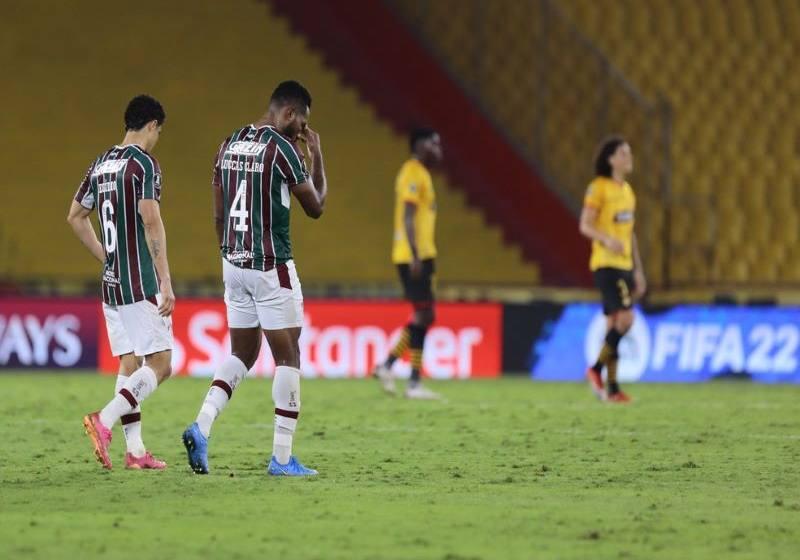 Falta de peças, repertório e intensidade fazem Fluminense acordar do maior sonho de 2021.