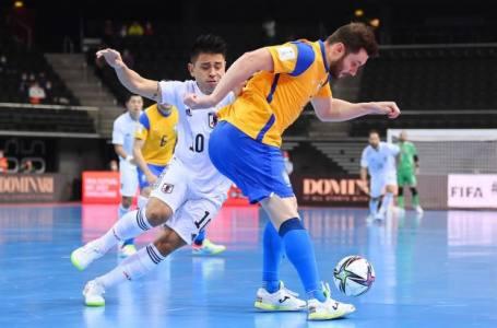 Brasil vence o Japão e vai às quartas de final do Mundial de Futsal.