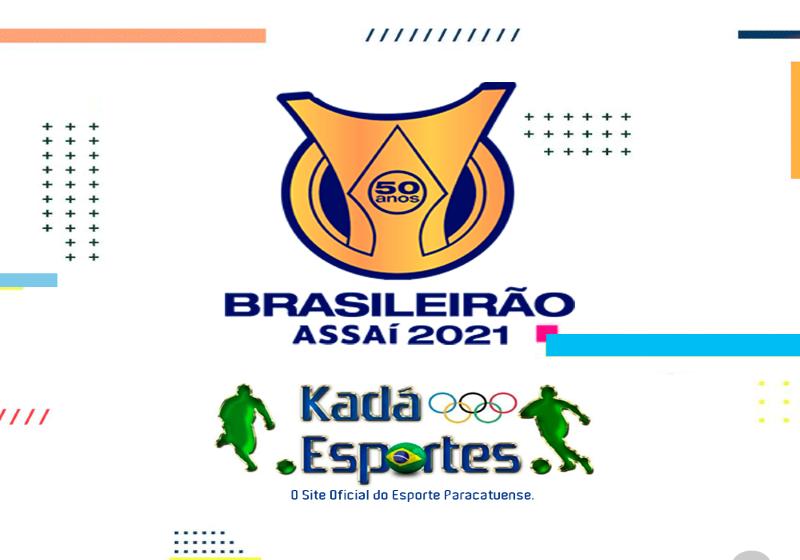 Classificação atualizada e os Jogos da rodada do Brasileirão das Séries A e B de 2021.