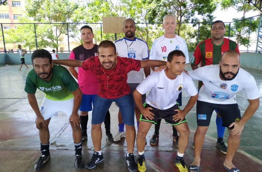 Lendas do Futsal Paracatuense participam do 1º Encontro de 2020.