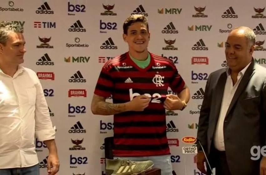 "Apresentado no Flamengo, Pedro avisa que comemorará gols contra o Fluminense: ""Claro!"""