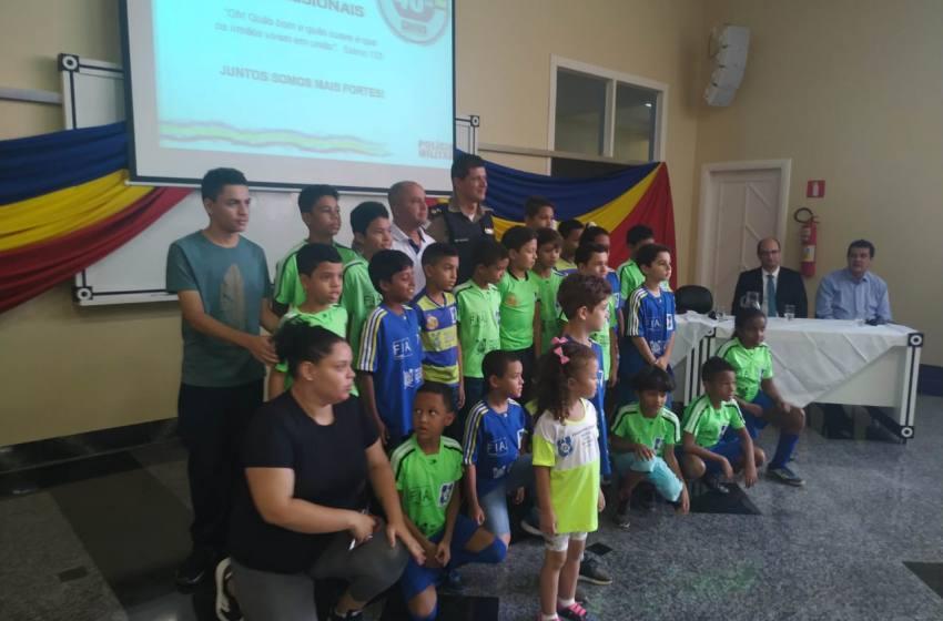 Projeto Atleta Cidadão assina Convênio de parceria com a Polícia Militar de Paracatu.