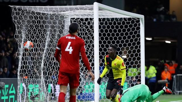 Irreconhecível, Liverpool leva baile do Watford e perde a invencibilidade na Premier League.
