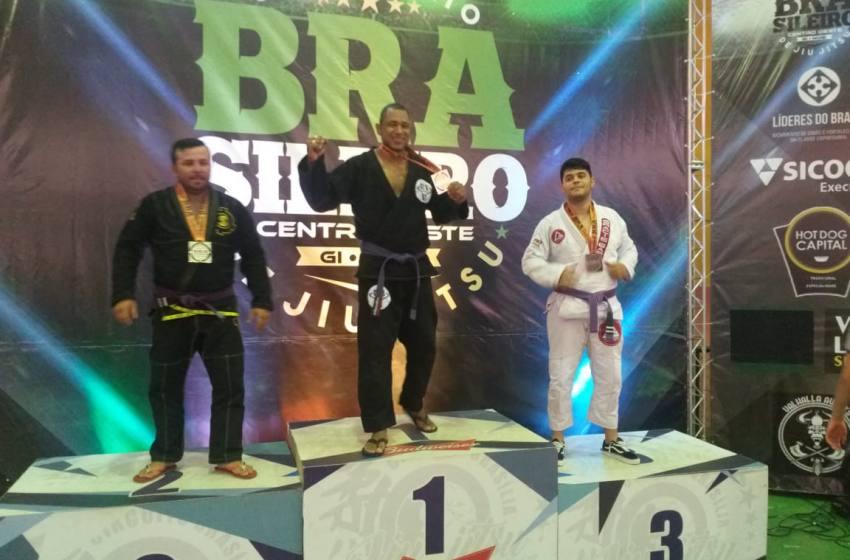 Paracatuense Marcão da Equipe Cei-Jiu Jiu-jitsu Paracatu  e Campeão Brasileiro Centro Oeste de Jiu-Jitsu.