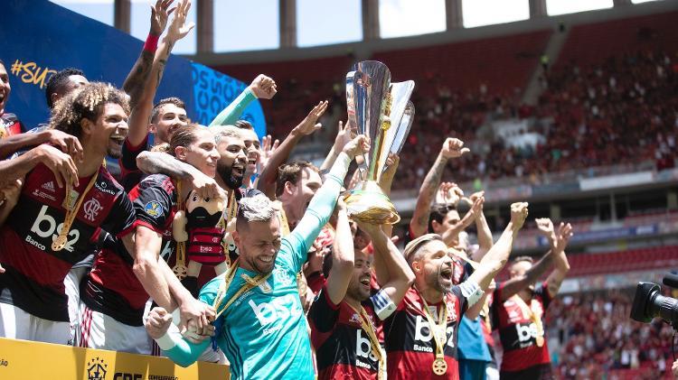Os melhores momentos do Titulo de Campeão da Super Copa do Brasil do Flamengo sobre o Athetico Paranaense.