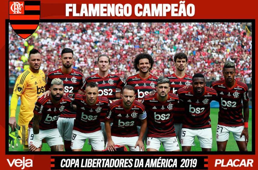 Relembre todos os gols do Flamengo na temporada 2019.