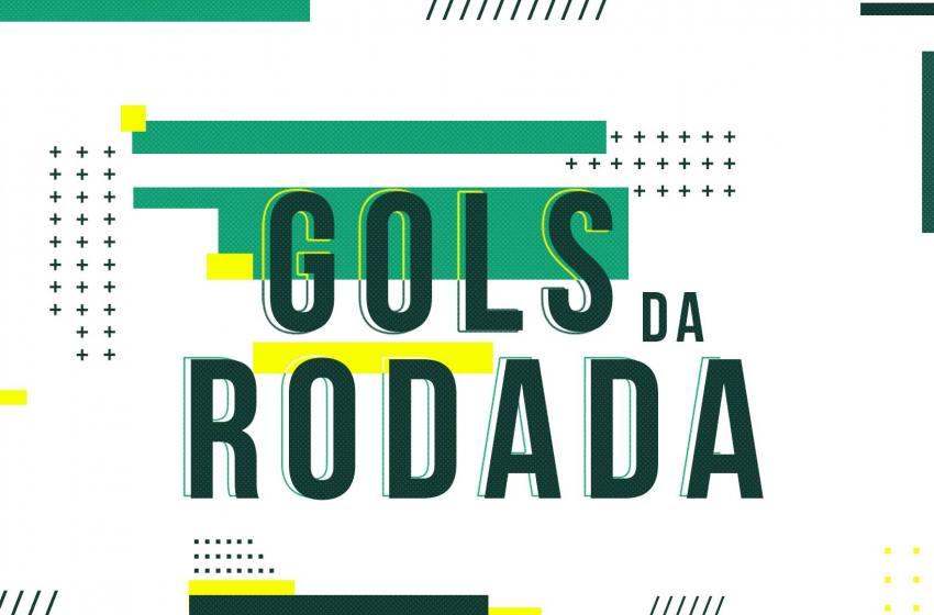 Os gols da rodada deste domingo 08/03/2020.