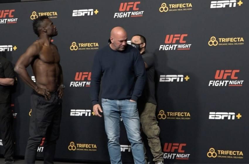 Spider vai ao banheiro e deixa Uriah Hall e Dana esperando antes da sua última encarada no UFC.