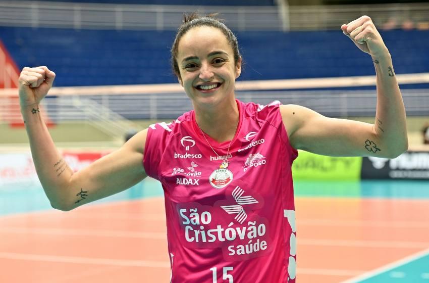 Camila Paracatu é eleita a melhor em quadra na vitória do Osasco sobre o São Paulo/Barueri.