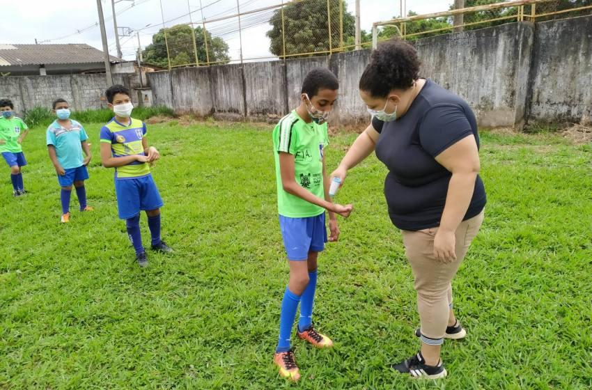 Com Segurança e responsabilidade os treinos do Projeto Atleta Cidadão estão de volta.