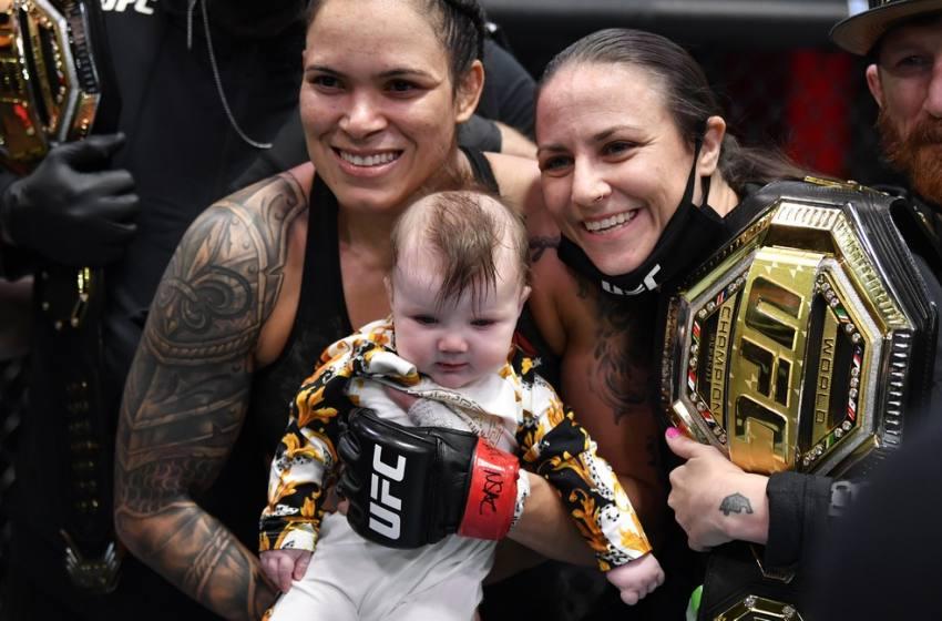 Com atuação impecável, Amanda Nunes finaliza Megan Anderson e mantém cinturão no UFC 259.
