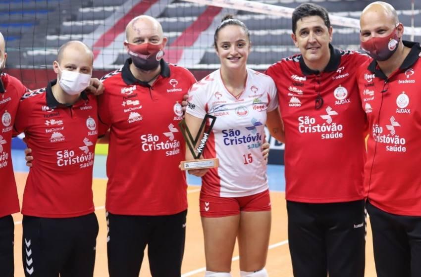 Camila Paracatu é o destaque do Osasco na Classificação para as Semifinal da Super Liga Feminina de Vôlei.