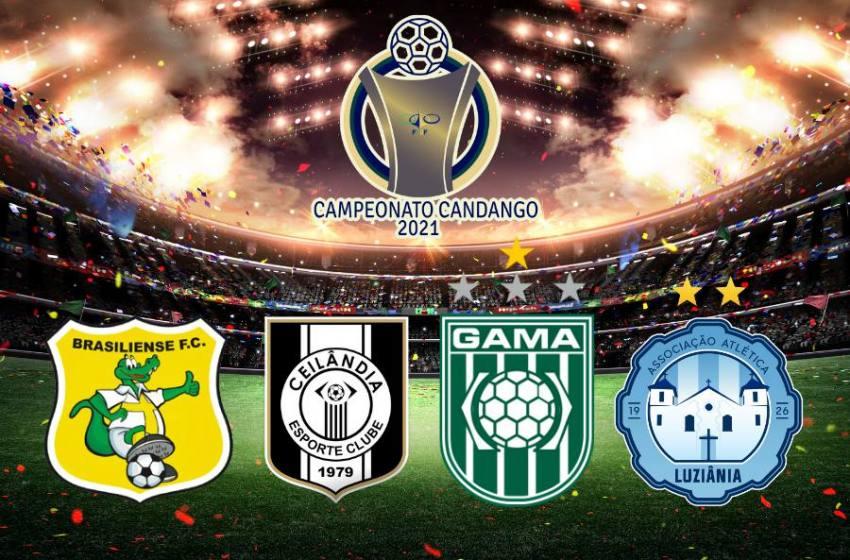FFDF detalha partidas do quadrangular semifinal do Candangão; Veja datas.