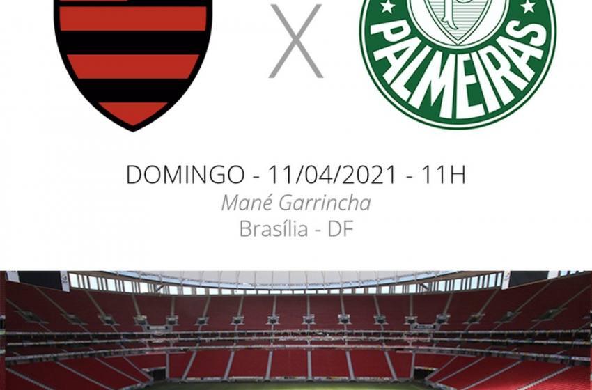 Flamengo x Palmeiras: veja onde assistir, escalações, desfalques e arbitragem da Supercopa.