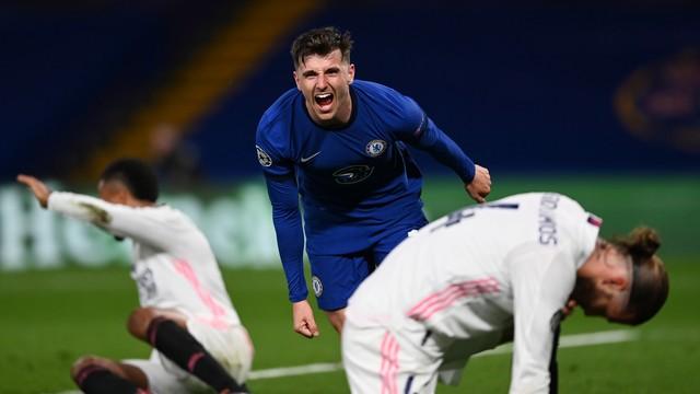 Chelsea controla o Real, vence em casa e vai à sua terceira final de Champions.