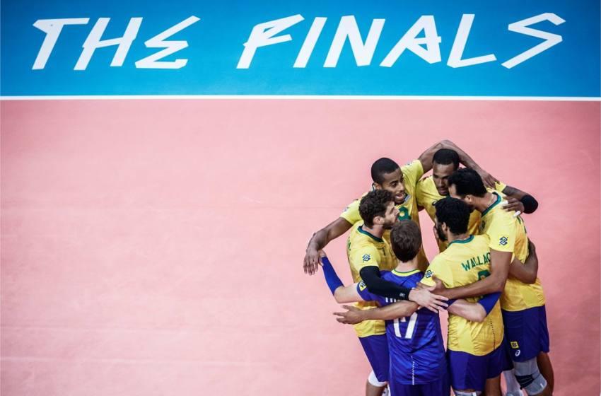 Brasil faz final da Liga contra Polônia, mas de olho em Tóquio.
