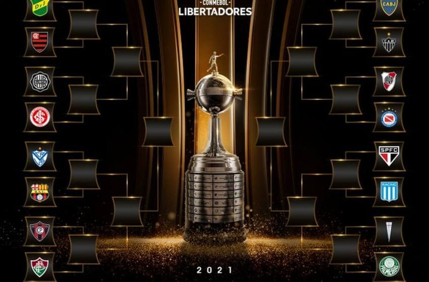 Libertadores: veja os confrontos das oitavas de final definidos em sorteio.