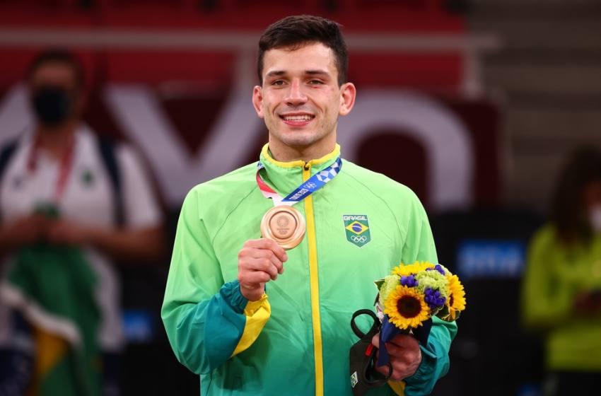 Daniel Cargnin conquista primeiro bronze do Brasil nas Olimpíadas 2020.
