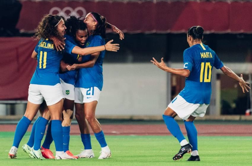 Em jogo de 6 gols Seleção Brasileira  Feminina empata com a Holanda.