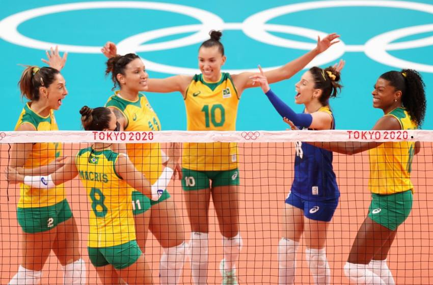 Brasil se impõe e vence a Coreia na estreia do vôlei feminino em Tóquio.