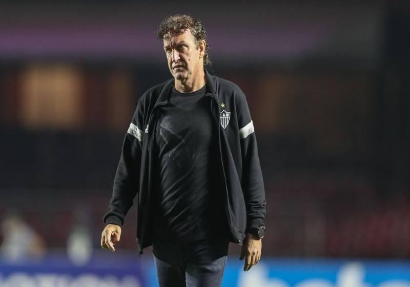 """Cuca valoriza empate do Atlético-MG fora de casa: """"Não vamos ganhar sempre""""."""
